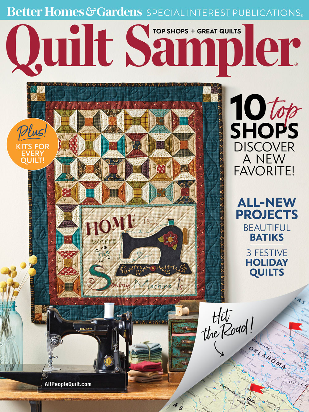 American patchwork and quilting calendar 2018